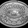 Jack Daniels Old No 7 Oval Belt Buckle