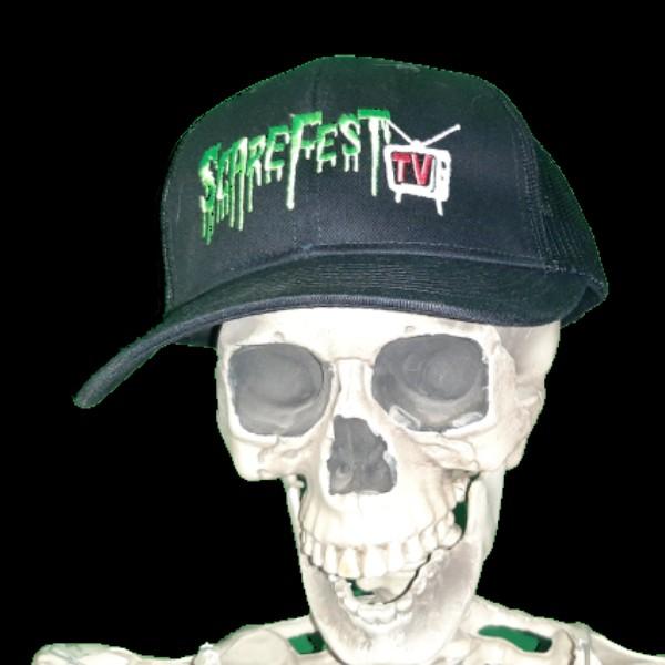 SFRTV Trucker Hat, Logo